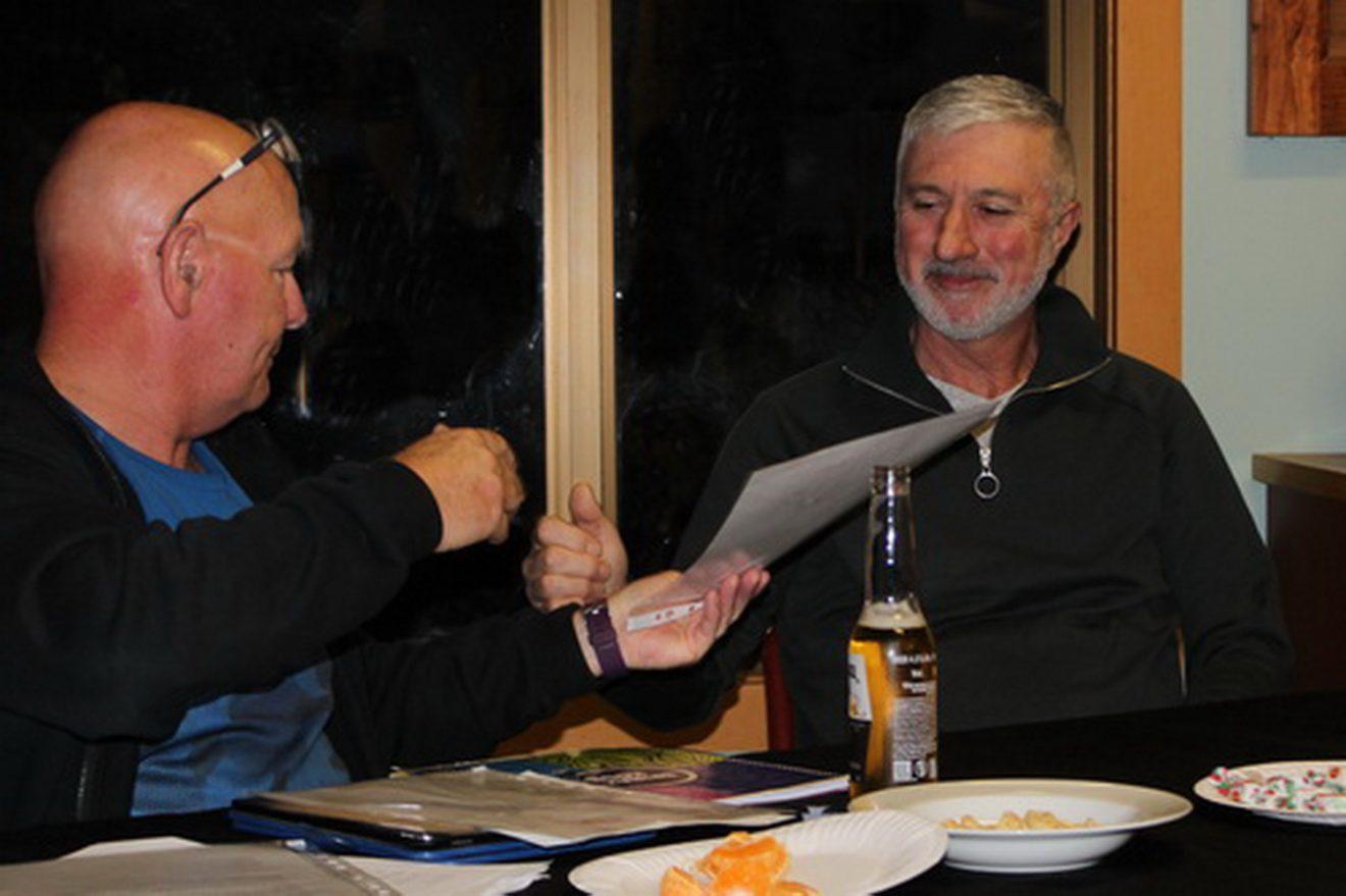Lifetime membership award to Peter Sardi